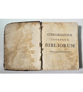 Sacrorum bibliorum vulgatae editionis concordantiae ad recognitionem jussu sixti v. pont. max. bibliis adhibitam recensitae atque emendatae à Francisco Luca Theologo & Decano Audomaropolitano.