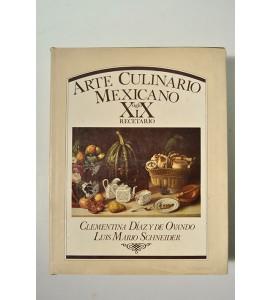 Arte Culinario Mexicano siglo XIX Recetario *