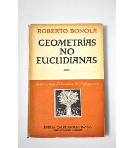 Geometrías no euclidianas