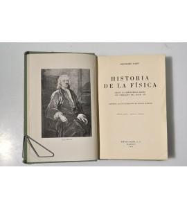 Historia de la física, desde la antigüedad hasta los umbrales del siglo XX