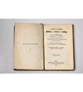 Tratado de química mineral, vegetal y animal.