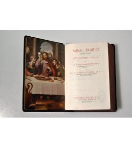 Misal diario castellano. Devocionario y ritual.