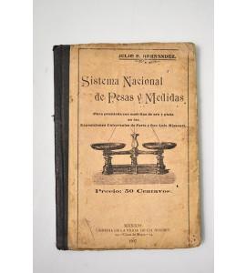 Sistema nacional de pesas y medidas. Nociones de sistema métrico.