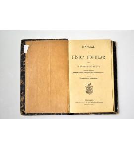 Manual de física popular