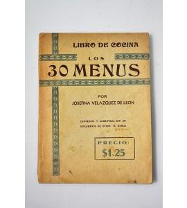 Los 30 menús *