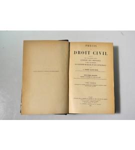 Précis de droit civil
