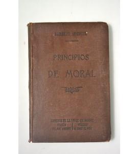 Principios de moral