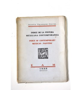 Indice de la pintura mexicana contemporánea / Indes of contemporary mexican painting