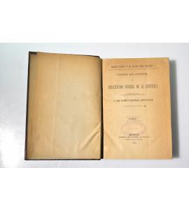 Colección que comprende la Constitución General de la República