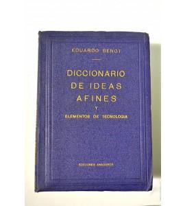 Diccionario de ideas afines y elementos de tecnología