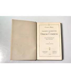 Tratado elemental de Derecho comercial