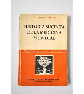 Historia sucinta de la medicina mundial