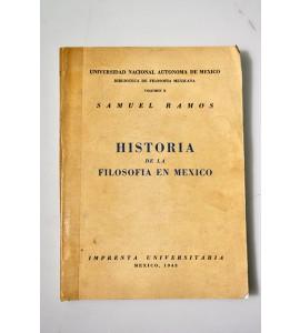 Historia de la filosofía en México