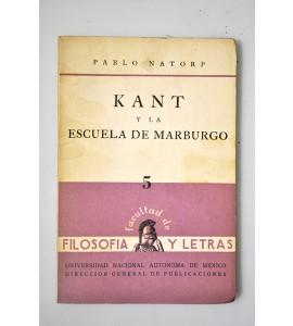 Kant y la escuela de Marburgo