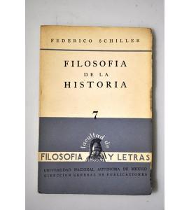 Filosofía de la Historia *