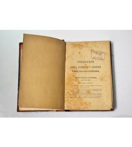 Colección de leyes, decretos y órdenes.