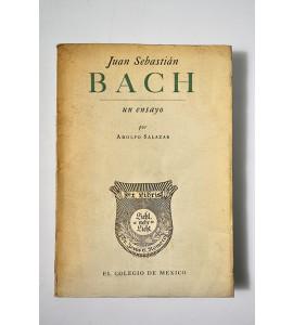 Juan Sebastián Bach, un ensayo.