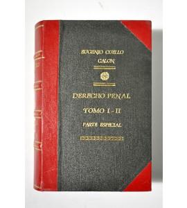 Derecho Penal. Parte especial *