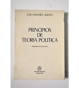Principios de teoría de política *
