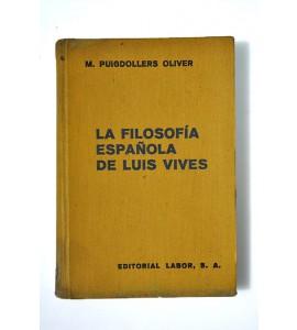 La filosofía española de Luis Vives *