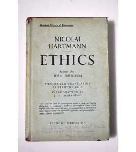 Ethics.Volume one: Moral phenomena