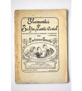 Elementos de Solfeo y Canto coral