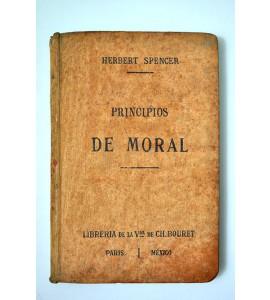 Resumen sintético de los principios de moral
