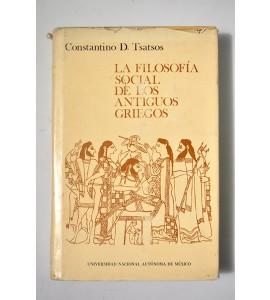 La filosofía social de los antiguos griegos