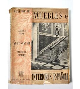 Repertorio de muebles e interiores españoles