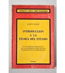 Introducción a la teoría del estado *