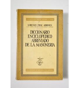 Diccionario enciclopédico abreviado de la masonería