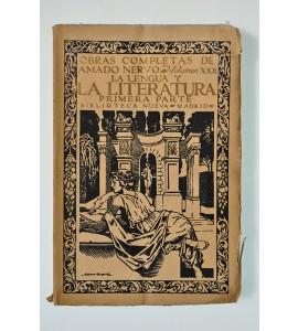 Obras completas de Amado Nervo. Vol. XXII: La lengua y la literatura. Primera parte. *