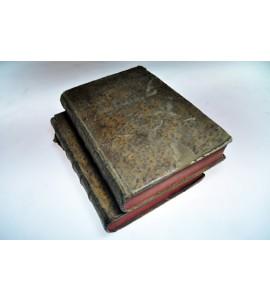 BIBLIA SACRA Vulgatae Editionis, Sixti V & Clementis VIII... 2 Tomos. *