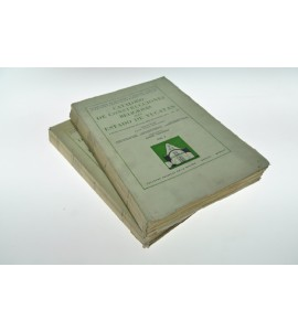 Catalogo de construcciones religiosas del Estado Yucatan. Vol. I y II *