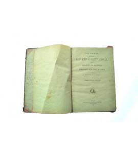 Decretos expedidos con motivo de la Reforma Constitucional sobre abolición de Alcabalas y exposición relativa