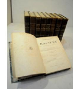 Oeuvres complétes de Bossuet. 10 Tomos