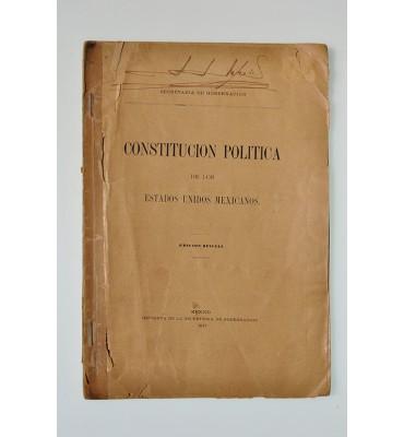 Constitución Política de los Estados Unidos Mexicanos *