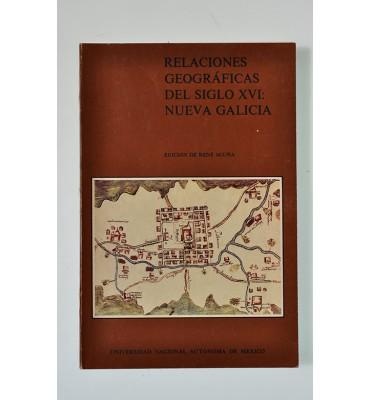 Relaciones geográficas del siglo XVI: Nueva Galicia *