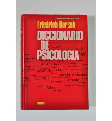 Diccionario de psicología *