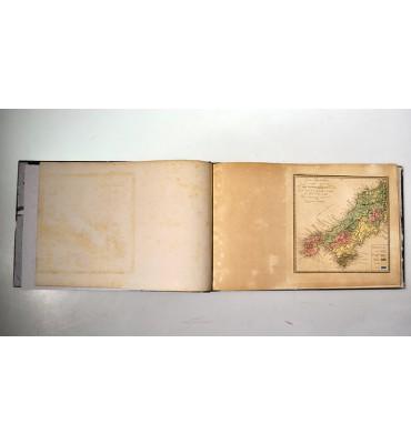 Voyage metallurgique en Angleterre ou Recueil de Memoires sur le gisement l´exploitation et le traitement des minerais de fer, étain, plomb, guivre, zing, et sur la fabrication de l´acier dans la Grande-Bretagne.