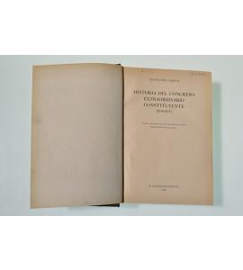 Historia del congreso extraordinario constituyente (1856-1857)