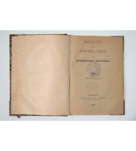 Código civil del estado libre y soberano de Querétaro Arteaga