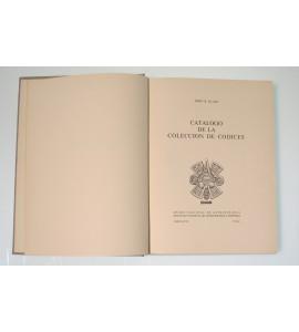 Catalogo de la colección de códices