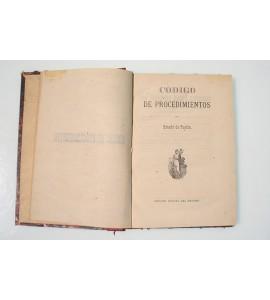 Código de procedimientos del estado de Puebla
