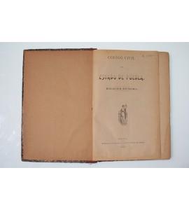 Código civil del Estado de Puebla *