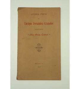 Several poems of Enrique Fernández Granados *