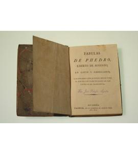Fabulas de Phedro, Liberto de Augusto, en latin y castellano