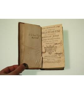 In titulum digestorum de diversis regulis juris antiqui enarrationes