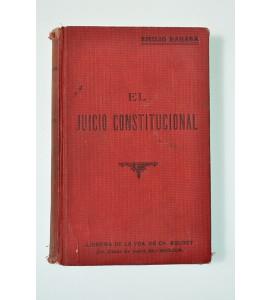 El Juicio Constitucional