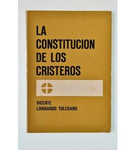 La Constitución de los Cristeros